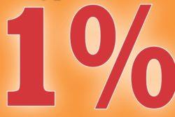 Możliwy 1% dla Kaplicy